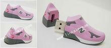 usb flash drive,usb stick cover /PVC shoes usb drive