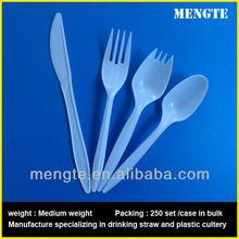 Plastic cutlery set/ in bulk