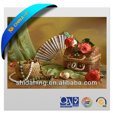Fancy New Design 3D Picture of Still Life Image/ PET lenticular advertisement decoration picture