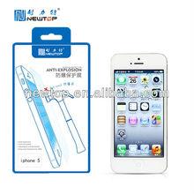 Anti-shock screen protector for iPhone 5 ,anti-explosion screen protector,anti-broken,TPU material