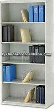 metal wooden side book shelf