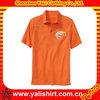 Stylish printed men cotton polyester polo shirt