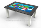 High configuration Multi-touch interactive touch screen table for coffee bar and restaurant