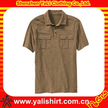 men office working pockets polo
