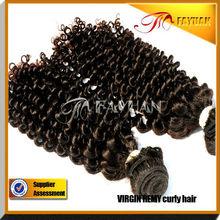 hot selling top quality 100% natural human hair Virgin Indian Wavy