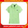 High quality custom ladies polo t shirt dri fit jersey sports wear