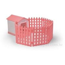 862-B Pet Villa w/6 Fences