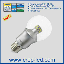 ul listed 3014 SMD clear led bulb 360 degree 4w 9w 6w e17 e12 e14 b22 b15 e27