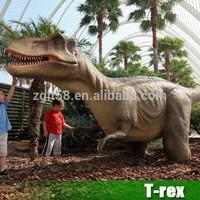 2015 hot sale animatronic life-size T-rex robot dinosaurs for Jurassic Park