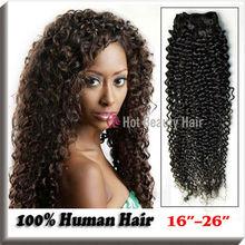 Uprocessed Virgin Indian Deep Kinky Curly Hair