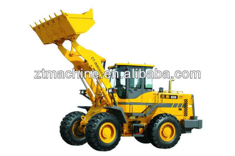 cummins 6BT5.9-125 3t wheel loader made in China Taian Zhengtai Construction Machinery Co.,Ltd