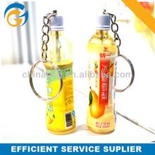 Keychain Mini Cola Bottle Plastic Ballpen