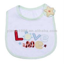 1pc Baby Infants Kid Toddler Lunch Bibs Saliva Towel 3 Layer Cotton Waterproof