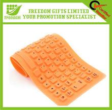 Customized Foldable Bluetooth Silicone Keyboard