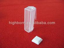 high precision uv quartz glass cuvette