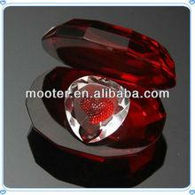 Artificial cristal hechos a mano de recuerdos de la boda regalos