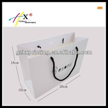 branded purchase silk screen craft paper bag