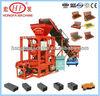 Motor-driven QTJ4-26 Medium Brick Block Making Machine hongfa hollow brick making machine