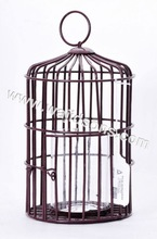 Parrot Cage / Wire Bird Cage / Metal Bird Cage For Home Garden Decoration, Door Has Safety Locks