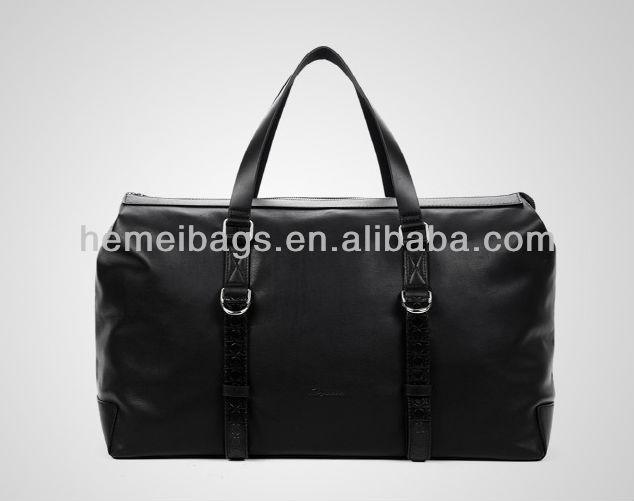 Leather Travelling bag&Hiking bike luggage bag China mnufacturer