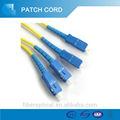 Dúplex SC-SC PC fibra óptica flexible