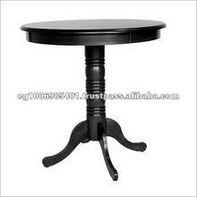 Round wooden round bar table - bar furniture