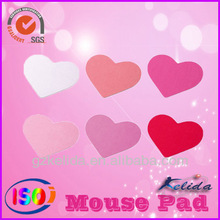 color changing mouse mat sweet heart mini valentine collection rubber mouse pad