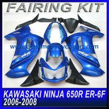 MOTORCYCLE FAIRING KIT FOR KAWASAKI Ninja 650R ER-6F 2006-2008 BODYWORK
