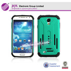 high quality factory price pc+silicon mobile phone case for samsung S4 i9500 protector case