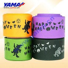 Wholesale popular print ribbon halloween decoration