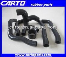 Black heater silicone hose auto silicone hose