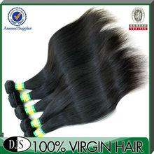 8-36inch, 5a 100%unprocessed hair natural perm straight hair
