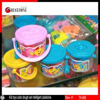 Kid toys color dough set intelligent plasticine