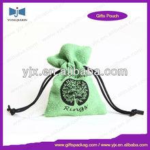 velvet mobile phone packing pouch bag sell green mini