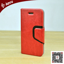 2013 new products universal cell phone leather case for iphone 5