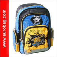 BP0392 custom made cartoon school bags for boys