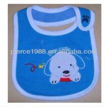Baby pure cotton three waterproof bibs cute puppy