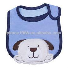 Cute Dog Baby's Infants Kids Lunch Bib Saliva Towel 3 Layer Cotton Waterproof