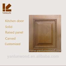 unfinished european oak traditional best sold door hot sale kitchen cabinet