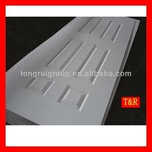 HDF moulded white primed door skin by china manufacturer