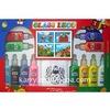 12 colors Popular Glass deco/ window glue non toxic