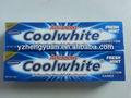 50g buena fragancia orgánicos para blanquear pasta de dientes, diente cepillodedientesparablanquear