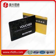 blank rfid cards/rfid playing cards/uhf rfid pvc cards