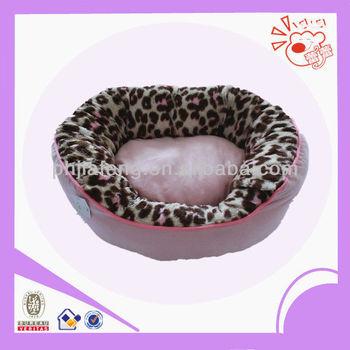 plush pink dog bed,warm pet bed