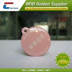 Waterproof plastic Ntag203 epoxy nfc hang tag