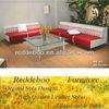 Skin leather sofa sofa set