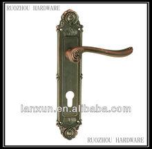 top and bottom door locks for wooden doors