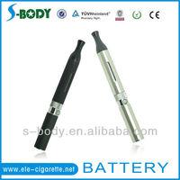 Latest mini e cigarette with 350mah mini ego battery in black&silver color accept paypal from S-body
