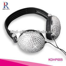 jeweled Headphones with Mic