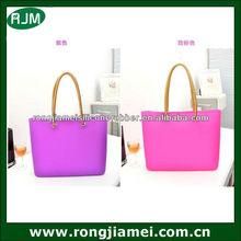 Fashion waterproof beach bag square shape for cute girls